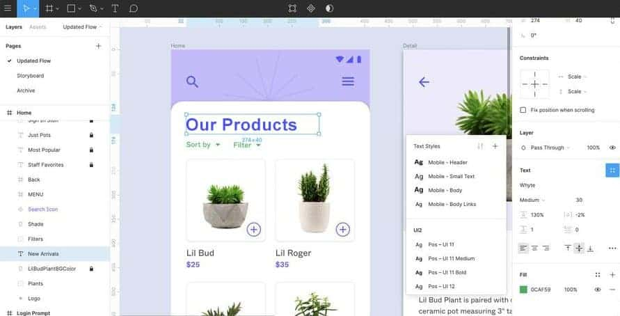 Prototype & Mockup Design Examples
