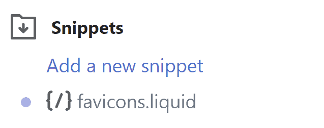 Shopify Snippets